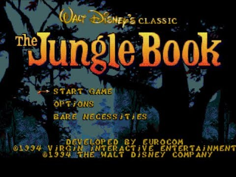 The Jungle Book Review for the SEGA Mega Drive by John Gage