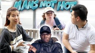 READING 'MANS NOT HOT' LYRICS TO THE PUBLIC! *GONE WRONG*