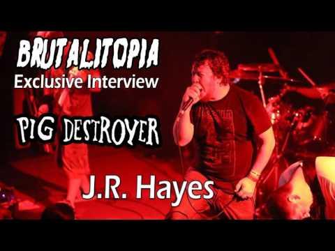 Brutalitopia Exclusive - J.R. Hayes (Pig Destroyer)