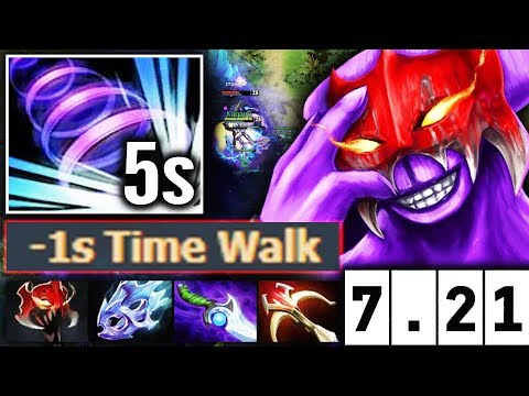 Faceless Void 7.21 BIG BUFF -1s CD Time Walk update Dota 2 Talent tree thumbnail