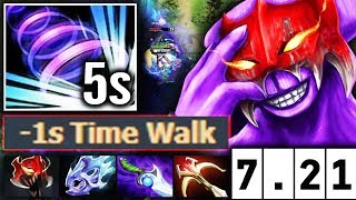 Faceless Void 7.21 BIG BUFF -1s CD Time Walk update Dota 2 Tal…