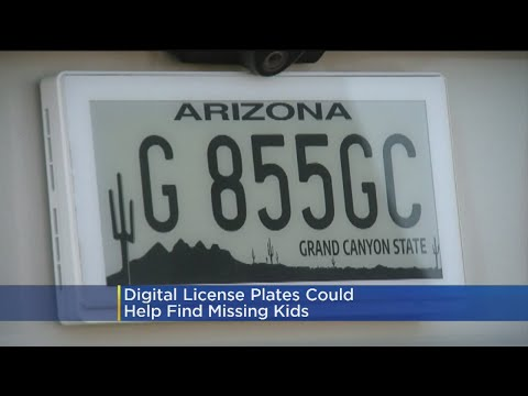 Digital License Plates
