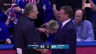 Gambar cover West Virginia at Kansas Men's Basketball Highlights