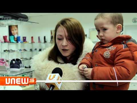 """U News. В Стерлитамаке открылся магазин детской обуви """"Зебра"""""""