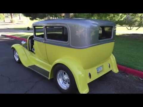 1928 Ford Tudor Sedan Street Rod
