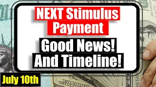 All but DEFINITE! Stimulus Update! - Payment Timeline Update