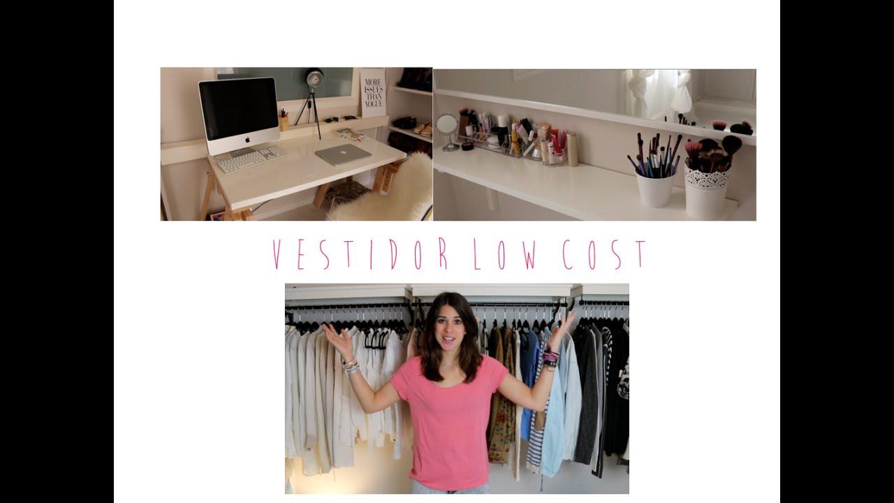 C mo hacer un vestidor low cost vestidor tocador - Ideas para hacer un tocador ...