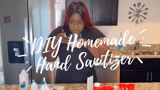DIY Homemade Hand Sanitizer | How to make Hand Sanitizer | Kills Germs (Finally Tried It)