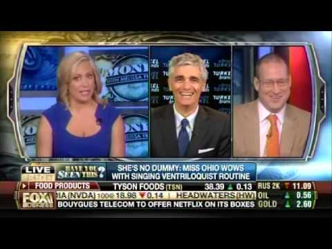 Bruce Turkel on Fox Business: The Ventriloquist talent of Miss Ohio