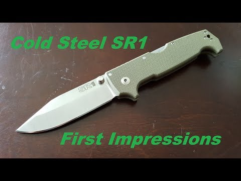 The Real Real Beast Cold Steel SR1 First Impressions