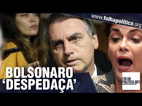 Presidente Bolsonaro 'despedaça' manipulações e rebate postura de ex-presidentes do Brasil
