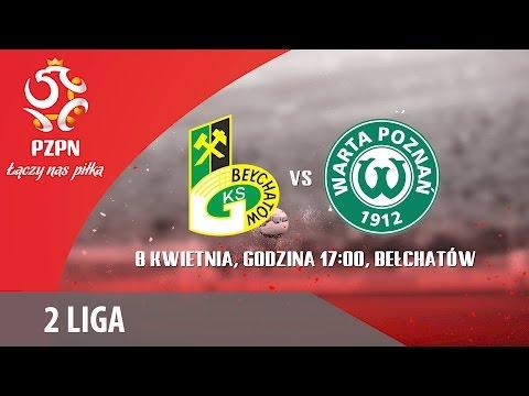 2 Liga: PGE GKS Bełchatów - Warta Poznań