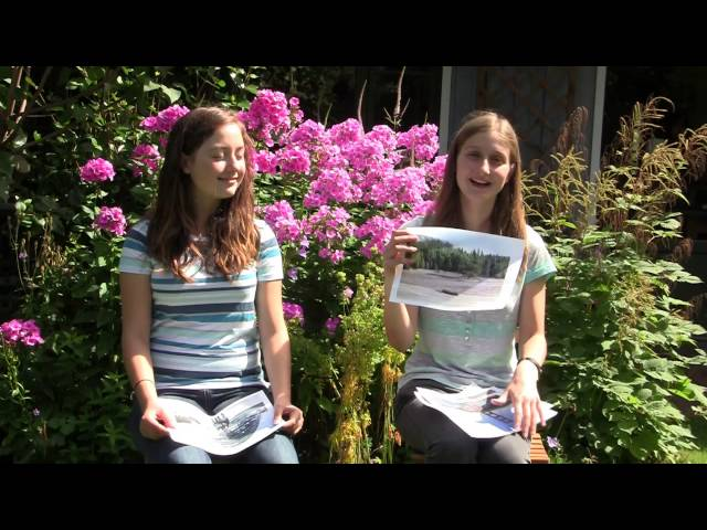 Johanna and Gemma show how they have learned each other