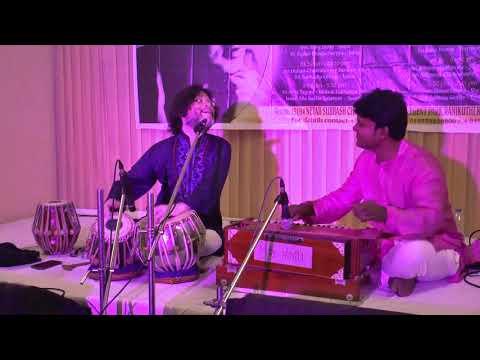 Pt  Biplab Bhattacharyaa and Dilip Biswas at AKSWM, Kolkata.