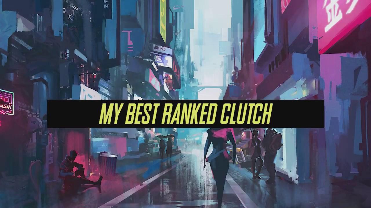 My Best Ranked Solo Clutch | animaltheotaku