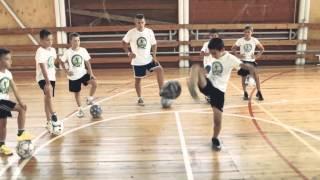 Краснодарская школа футбольного фристайла KFS (Promo)