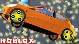 FIDGET SPINNER WHEELS ON A TESLA?! | Jailbreak | ROBLOX