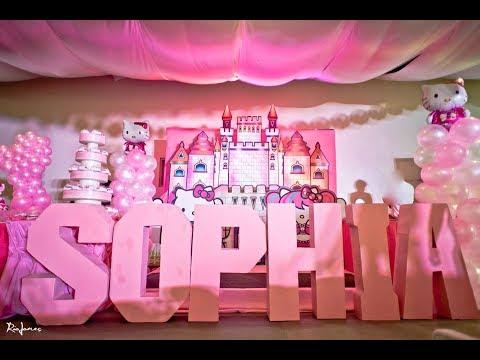 Sophia's Hello Kitty 1st Birthday At Patio De Manila