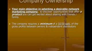 MLM - Network Marketing Company Ownership - Private/Public Traded?