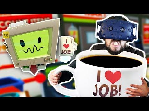 IM A GIANT   Job Simulator w/mods (HTC Vive Virtual Reality)