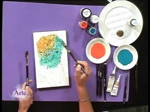 Tcnica mixta con pinturas y tintas  YouTube