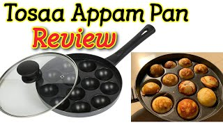 Tosaa Appam Patra 12 Cavity Long Handle with Glass Lid Unboxing amp Review