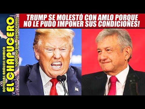 AMLO desata la furia de Trump por frenar importación de gasolina y maíz de EU. ¡Hay que apoyarlo!