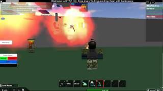 Destroying RTAF's HQ - Roblox