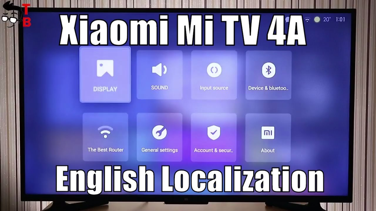Xiaomi Mi TV 4A - How to Change To English (Tutorial)