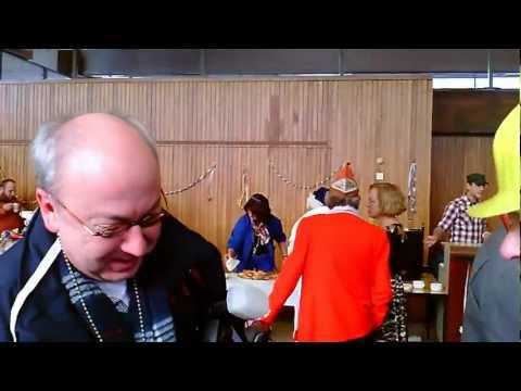Rathaussturm 2013 in Marl : Jürgen Wolter bekommt von BM W. Arndt den Stadtorden