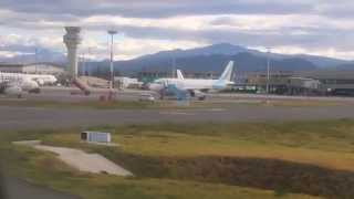 Aeropuerto de Quito, TABABELA 2014-06-21 Aterrizando, con turbulencia