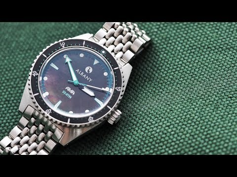 Albany Ama Dive Watch: Amazing Value & Totally Unique (in 4K Video)