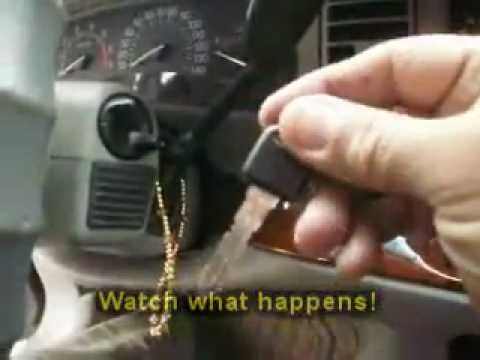 Atlanta GA: 1997 Buick Park Avenue  Lost Key Made & Programmed!  YouTube