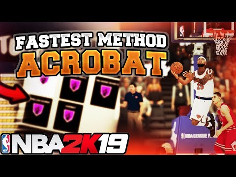 NBA 2K19 BADGE TUTORIAL - MYCAREER GLITCH CALL ISO FROM ANY POSITION ACROBAT BADGE TUTORIAL
