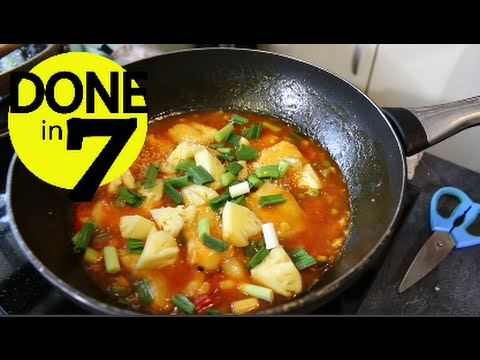 Fish In Sweet & Sour Sauce - Done In 7