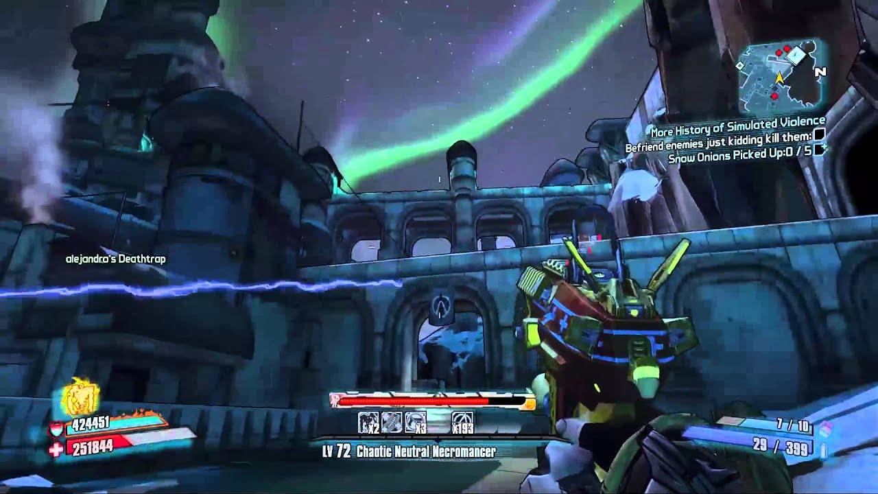 Borderlands 2 - The Raid on Digistruct Peak OP2 - Mechromancer