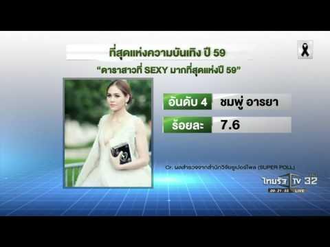 ซูเปอร์โพล เผย ที่สุดแห่งความบันเทิง ปี 59 | 20-12-59 | บันเทิงไทยรัฐ