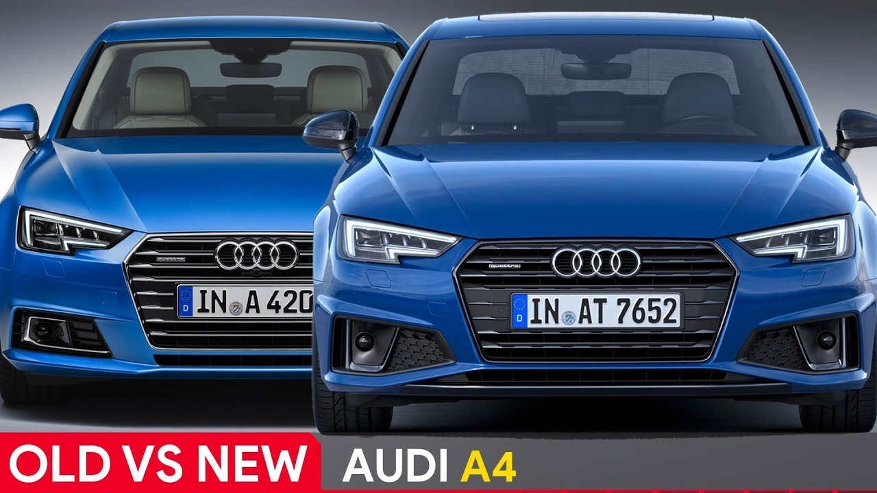 2019 vs 2018 audi a4 see the differences youtube. Black Bedroom Furniture Sets. Home Design Ideas