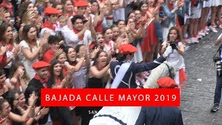 Bajada Calle Mayor San Marcial 2019   Txingudi Online