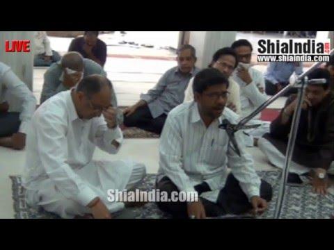 2nd Jumada-Al-Awwal Isaal-e-Sawab Majlis at Ibadath Khana-e-Hussaini 1437-2016
