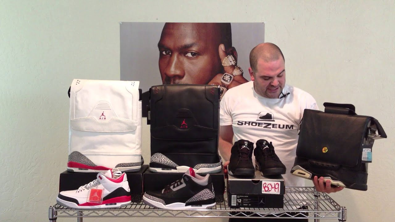 ShoeZeum Air Jordan Shoes   Bags - YouTube 0a6609443a