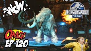 FUSION GENETICA AVANZADA! NUEVO PARQUE DE HIELO MAMUT 40 // #JurassicWorld El Juego #120 - JUEGO HD