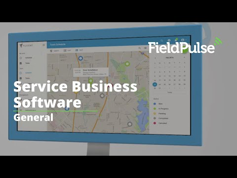 Service Business Software - Scheduling, CRM, Invoicing, and More | FieldPulse