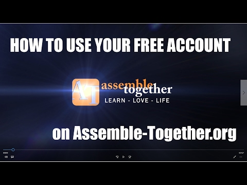 Assemble-Together.org Free Account