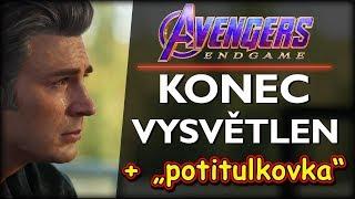 """Avengers Endgame: KONEC VYSVĚTLEN + """"potitulková scéna"""""""