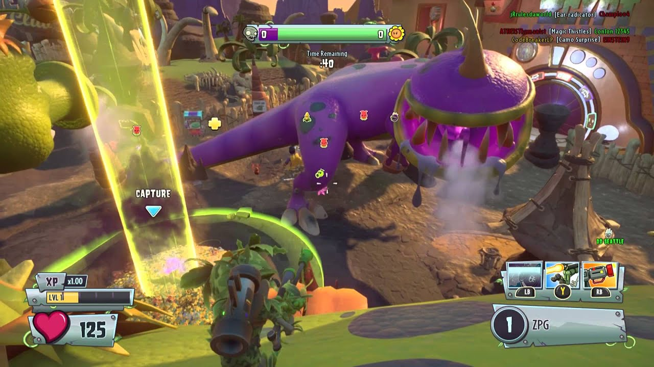 Plants vs zombies garden warfare 2 part 3 youtube for Plante vs zombie garden warfare 2
