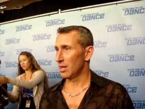 Adam Shankman Backstage