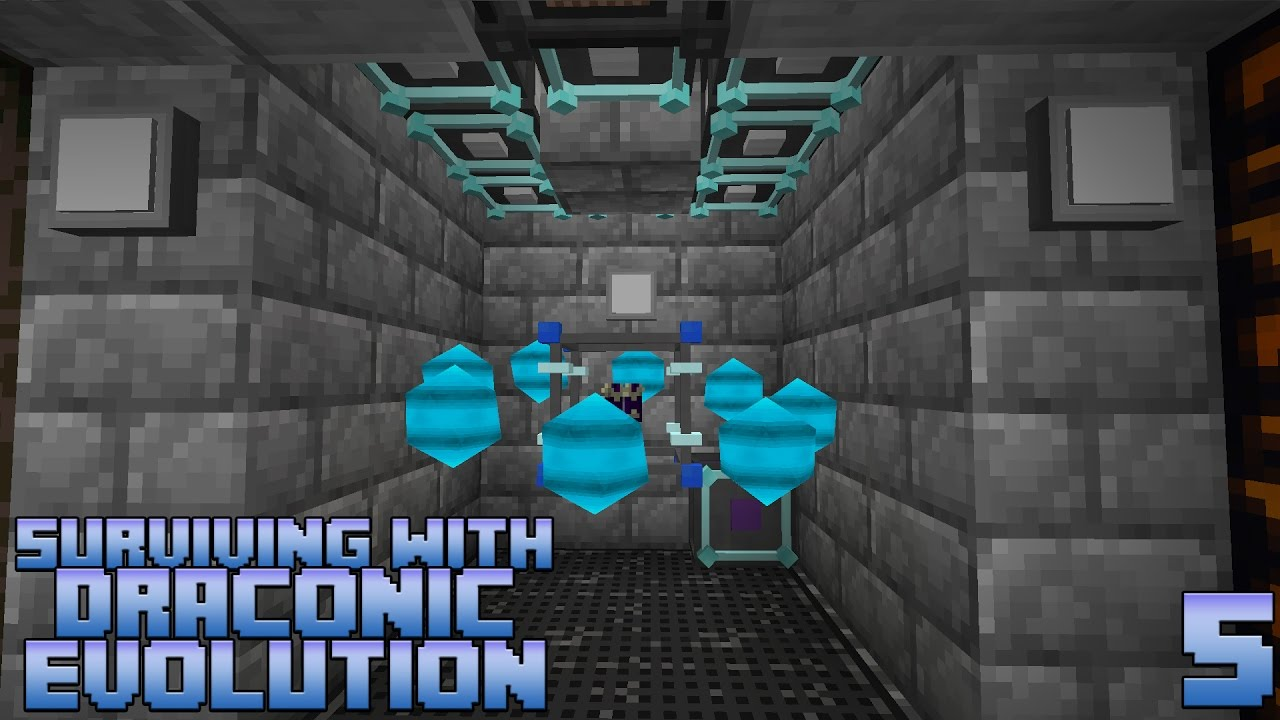 Surviving With Draconic Evolution :: E05 - Upgrades & Armor