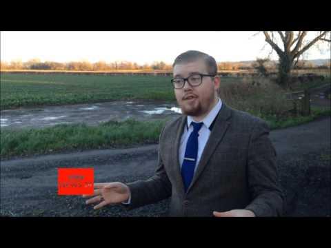 BBC News 24 Flood Report 2016 with Peter O'Hanrahanrahan