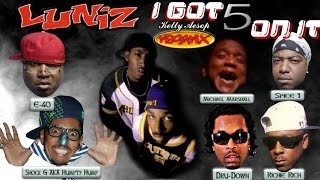 Luniz - I Got 5 On It MEGAMIX 10 MINUTES w/ Lyrics (Reprise, Official Ver., & Bay Area Remix)